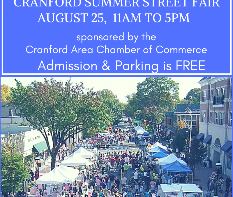 Cranford Summer Street Fair