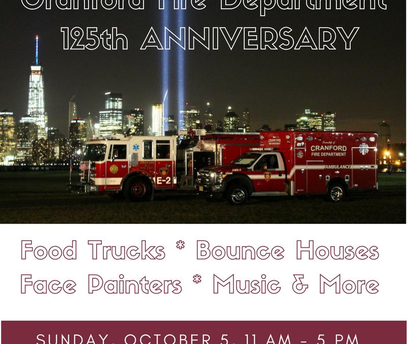 Cranford Fire Department 125th Anniversary Celebration