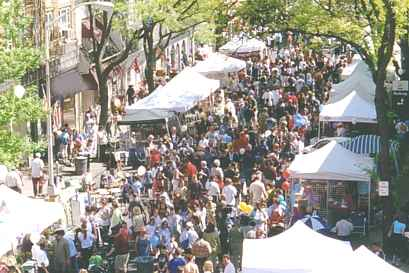 Cranford Fall Street Fair
