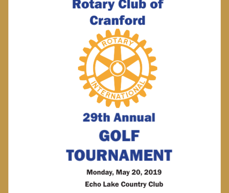 Rotary Club of Cranford 29th Annual Golf Tournament