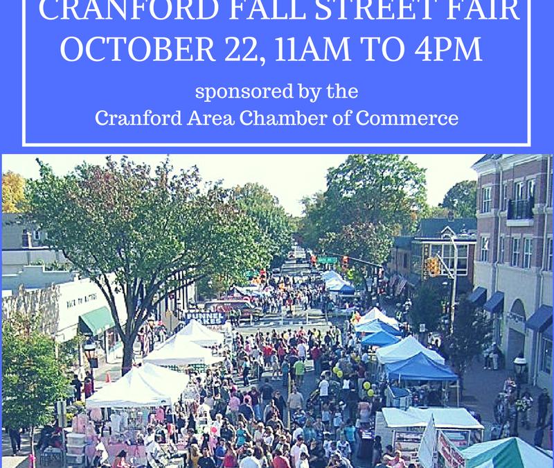 Cranford Fall Street Fair