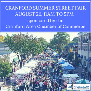 Cranford Summer Street Fair @ Downtown Cranford | Cranford | New Jersey | United States