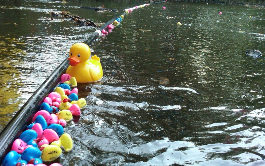 Cranford's Annual Ducky Derby featuring the Cake Boss!