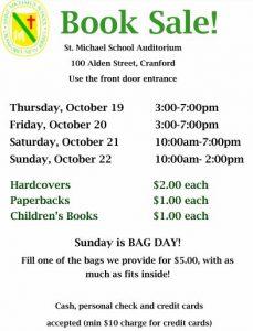 St. Michael's School BookSale @ St. Michael's School   Cranford   New Jersey   United States