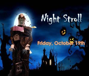 Scarecrow Night Stroll @ Downtown Cranford