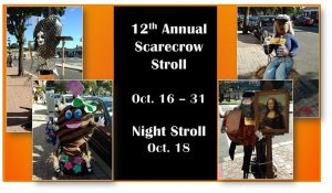 12th Annual Scarecrow Stroll @ Downtown Cranford