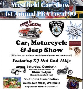 Westfield Car Show @ South Side of the Westfield Train Station | Westfield | New Jersey | United States