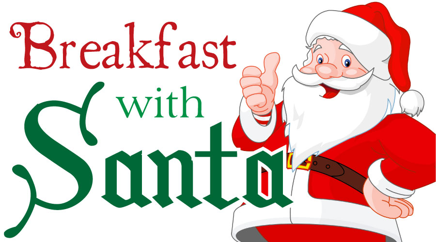 Breakfast with Santa sponsored by the Cranford Area Chamber of Commerce
