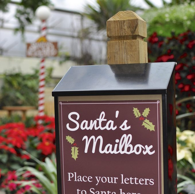 Santa's Mailbox sponsored by the Cranford Area Chamber of Commerce (Nov. 24-Dec. 18)