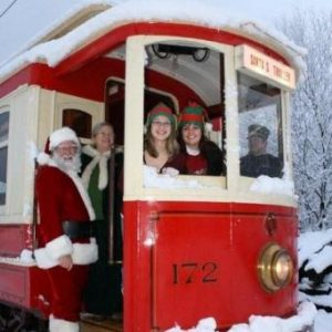 Trolley Rides with Santa sponsored by the Cranford Area Chamber of Commerce @ Gazebo | Cranford | New Jersey | United States