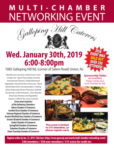 Third Annual Multi Chamber Event (Nine Chambers are included) @ Galloping Hill Caterers | Union | New Jersey | United States