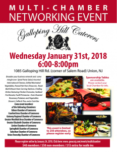 Second Annual Multi Chamber Event (Nine Chambers are included) @ Galloping Hill Caterers | Union | New Jersey | United States