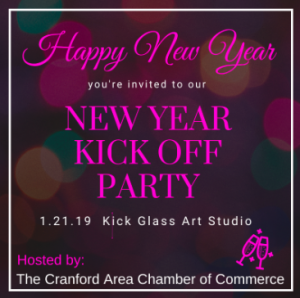 Cranford Area Chamber of Commerce 2020 Kick-off & Retirement CelebrationParty @ Kick Glass Art Studio | Cranford | New Jersey | United States