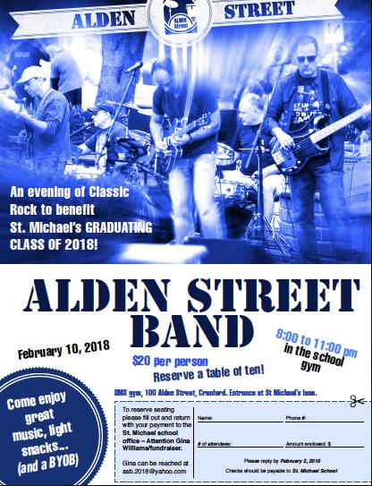 Alden Street Band Preforming Live at SMS!!!