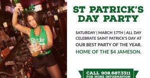 Saint Patrick's Day Party at Blackthorn Restaurant and Irish Pub @ Blackthorn Restaurant and Irish Pub | Kenilworth | New Jersey | United States