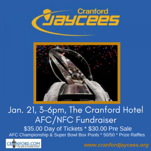 Cranford Jaycees AFC/NFC Fundraiser @ The Cellar at The Cranford Hotel | Cranford | New Jersey | United States