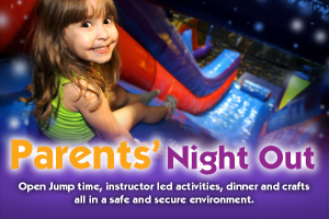 Pump it Up of Roselle - Parents Night Out @ Pump it Up | Roselle Park | New Jersey | United States