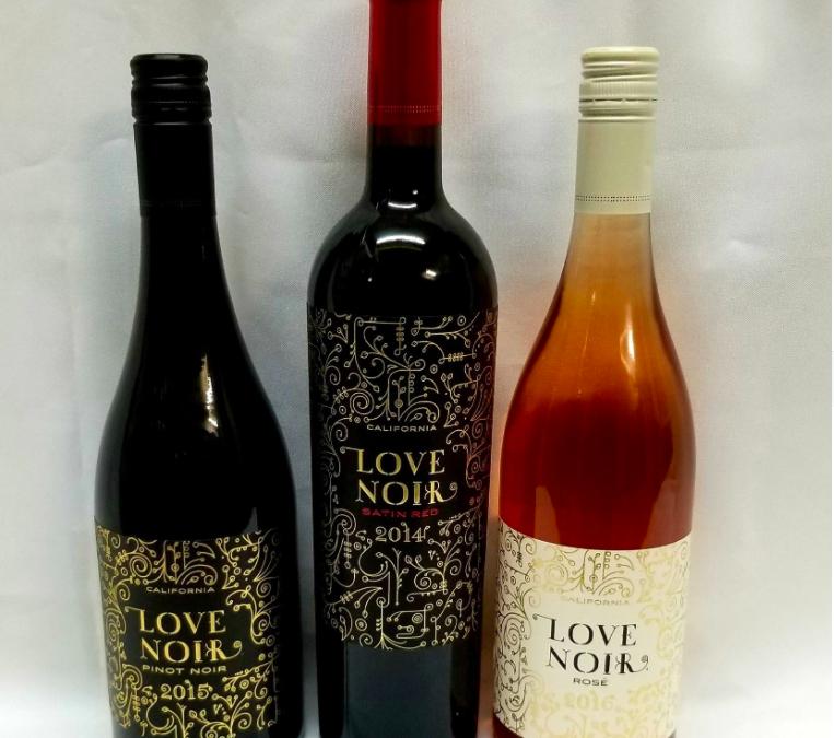 Love Noir Wine Tasting for Valentine's Day