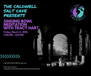 Singing Bowl Meditation with Tracy Hart - The Caldwell Salt Cave @ Caldwell Salt Cave  | Caldwell | New Jersey | United States