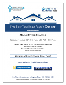 Free First Time Homebuyers Seminar @ Cranford | New Jersey | United States