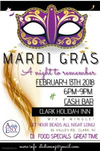 Mardi Gras Celebration @ Holiday Inn | Clark | New Jersey | United States