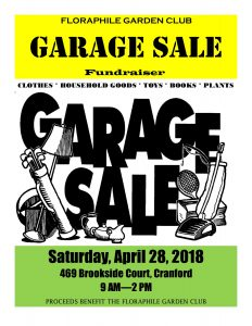 Floraphile Garden Club Garage Sale Fundraiser @ Cranford | New Jersey | United States