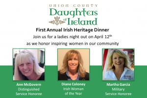 Irish Heritage Dinner @ Cranford Social | Cranford | New Jersey | United States