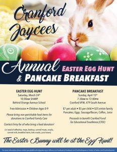 Cranford Jaycees Pancake Breakfast @ Cranford VFW Post 335 | Cranford | New Jersey | United States