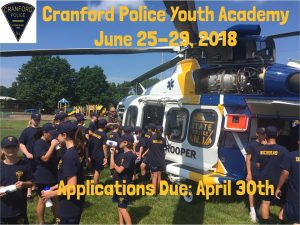 Cranford Police Department Youth Academy @ Various