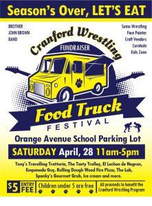 Cranford Wrestling Food Truck Festival @ Orange Ave School | Cranford | New Jersey | United States