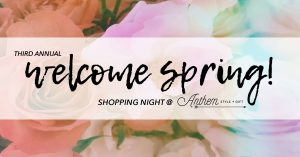 Welcome Spring Shopping Night! @ Anthem style & gift  | Cranford | New Jersey | United States