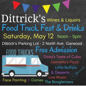 Food Truck Fest & Drinks @ Dittrick's Wine & Liquors | Garwood | New Jersey | United States