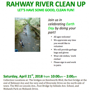 2018 Rahway River Clean Up Cranford @ Multiple Locations | Cranford | New Jersey | United States