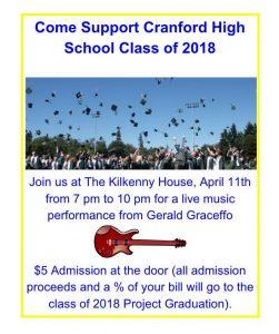 Cranford High School Fundraiser at Kilkenny House @ Kilkenny House | Cranford | New Jersey | United States