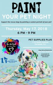 Paint Your Pet Night @ Pet Supplies Plus | Garwood | New Jersey | United States