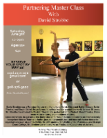 Ballet Partnering Class with David Strobb @ Moving Youth Dance Company | Cranford | New Jersey | United States