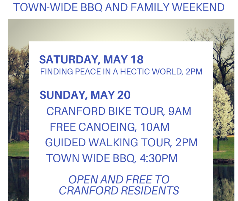 Cranford Town Wide Free Family Cook Out