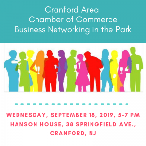 Business Networking in the Park @ Hanson House Park | Cranford | New Jersey | United States