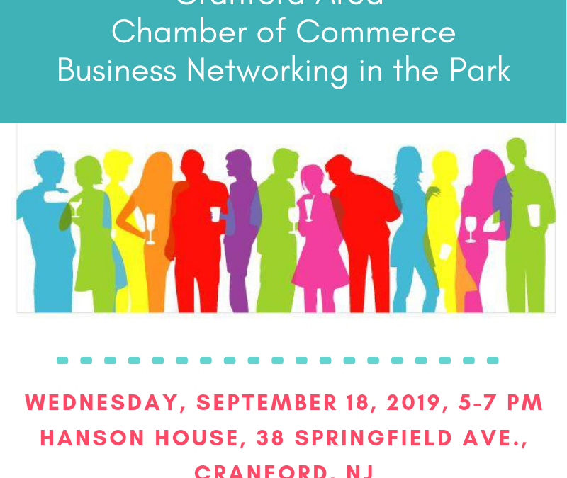 Business Networking in the Park – Has Been Postponed.