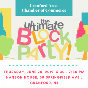 Cranford Area Chamber of Commerce Business Block Party - Canceled due to weather @ Hanson House Park | Cranford | New Jersey | United States