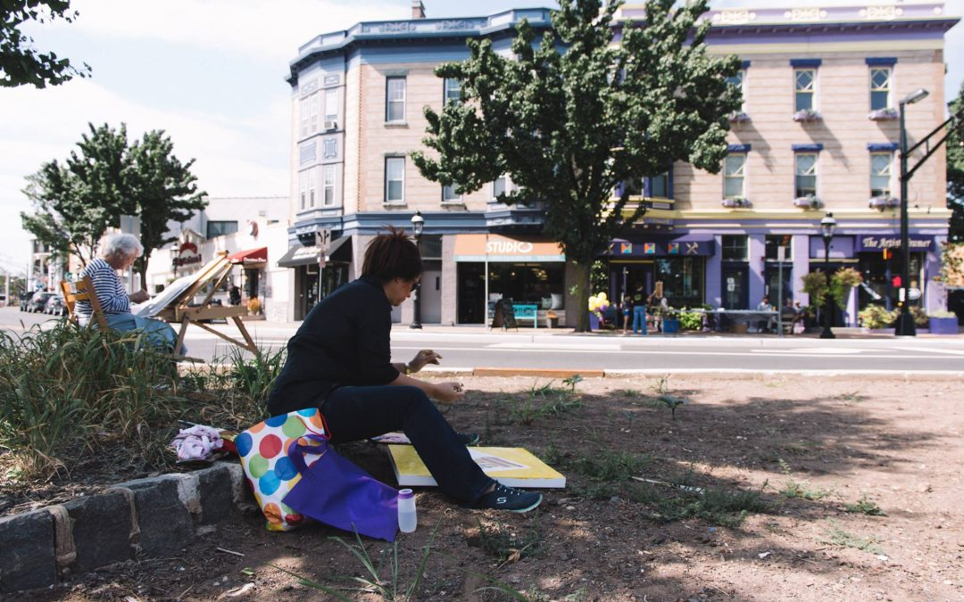 Cranford Community Paint Out 2018