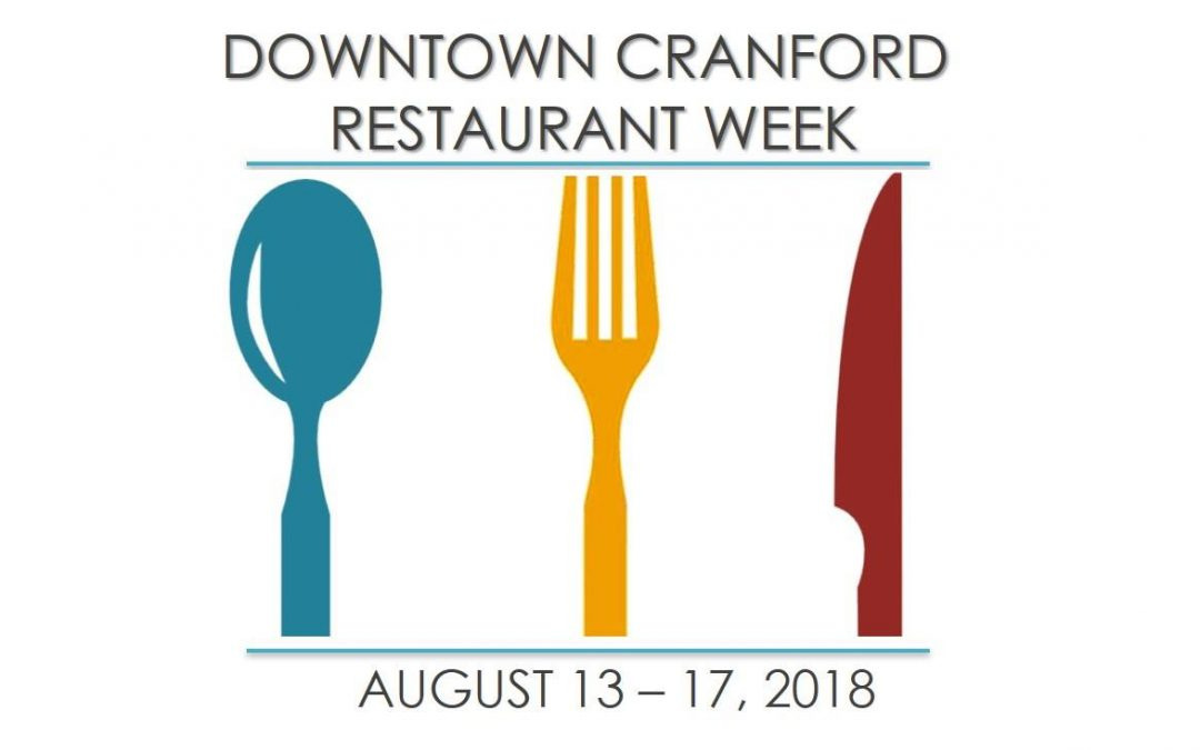 Downtown Cranford Restaurant Week