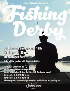 Leonard Snyder Memorial Fishing Derby @ pin Nomahegan Park  | Cranford | New Jersey | United States