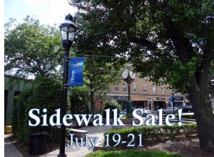 Downtown Cranford Sidewalk Sale @ Downtown Cranford