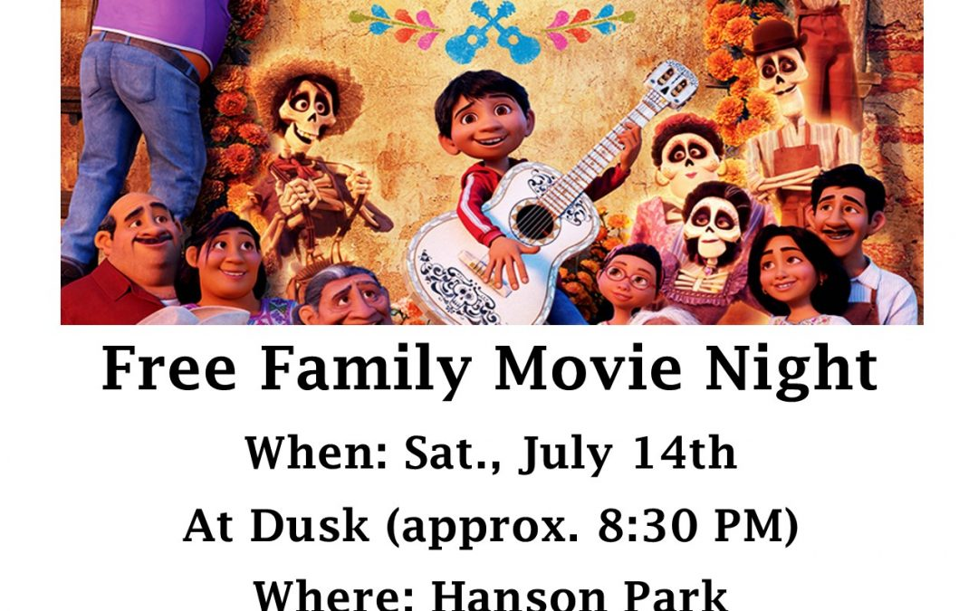 Movie in the Park – Coco