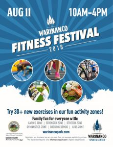 Warinanco Fitness Festival @ Warinaco Park | Roselle | New Jersey | United States