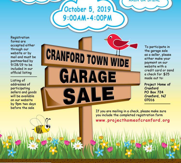 Cranford Town Wide Garage Sale