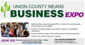 Union County Means Business Expo @ Warinanco Sports Center | Roselle | New Jersey | United States