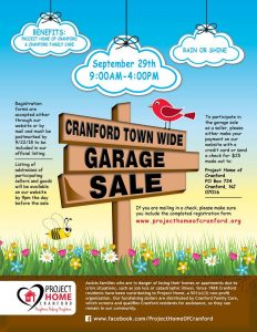 Cranford Town Wide Garage Sale @ All over Cranford