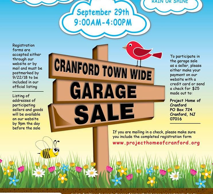 Cranford Town Wide Garage Sale